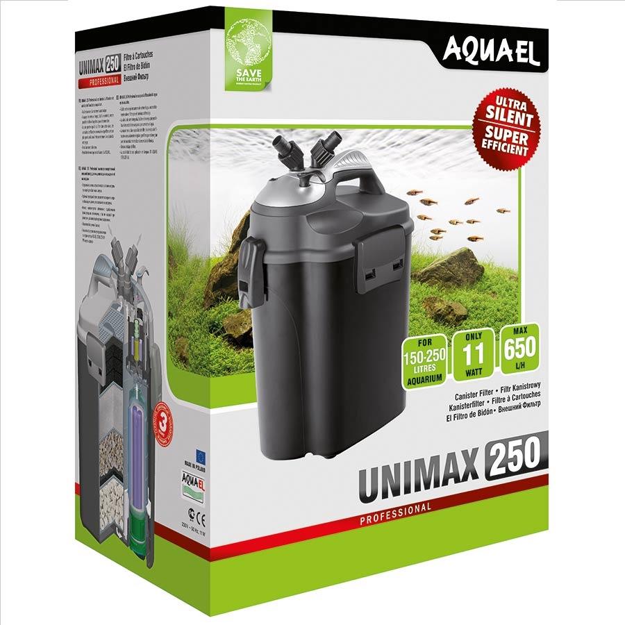 AQUAEL UNIMAX PROFESSIONAL 250, teho 650 l/h