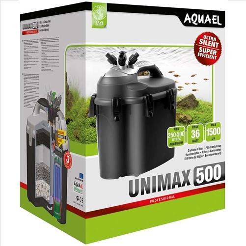AQUAEL UNIMAX PROFESSIONAL 500, teho 1500 l/h