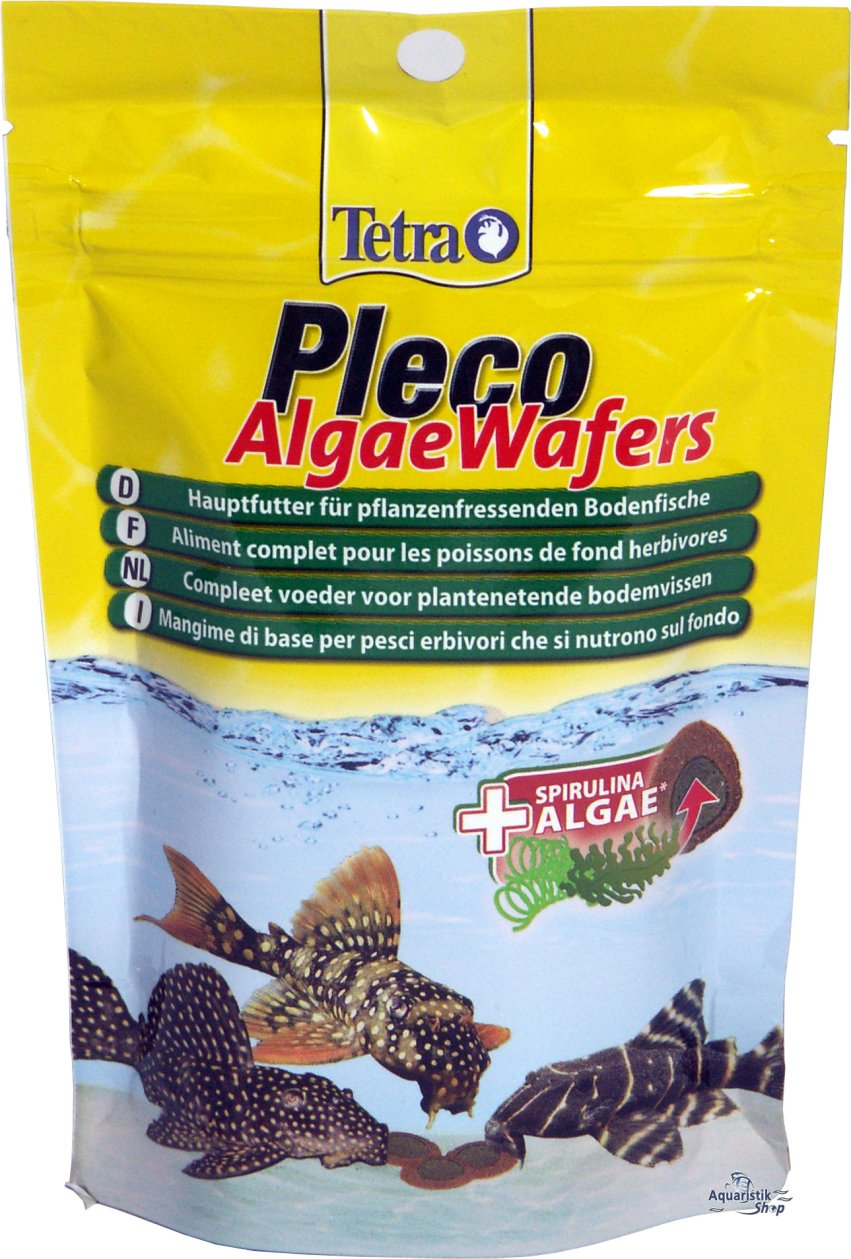 TETRA Pleco Algae Wafers 250ml/105g