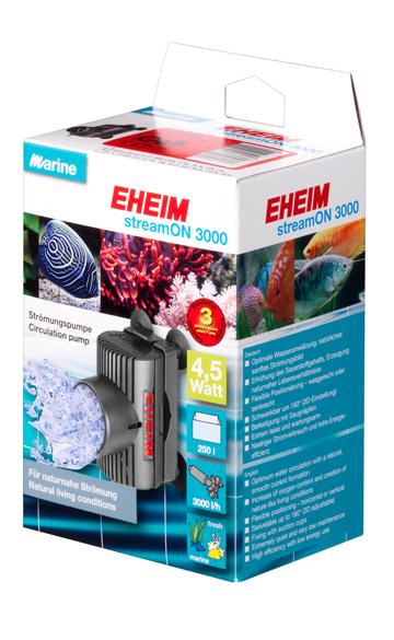 EHEIM StreamOn 3000 Streampumppu 3000 l/h 4,5W