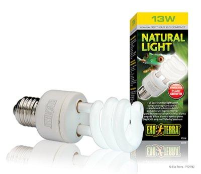 EXOTERRA NATURAL LIGHT lamppu 13W / 25W