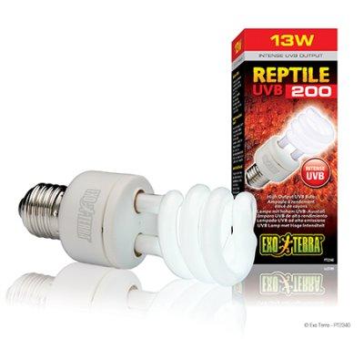 EXOTERRA REPTILE UVB 200 lamppu 13W / 25W