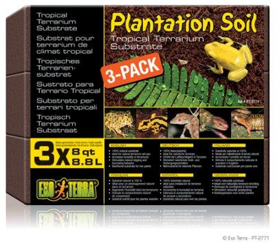 EXOTERRA PLANTATION SOIL kasvualusta