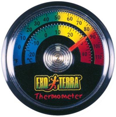 EXOTERRA lämpömittari, pyöreä