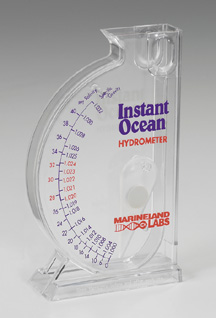 Ominaispainomittari Instant Ocean