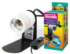 ARCADIA keraaminen kanta E27 Reptile Compact lampulle