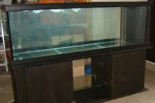 125cm leveät suorakaiteen muotoiset akvaariot