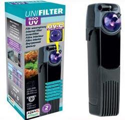 AQUAEL UniFilter UV sterilisoiva sisäsuodatin 500 l/h