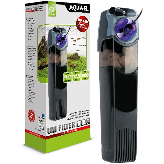 AQUAEL UniFilter UV sterilisoiva sisäsuodatin 1000 l/h