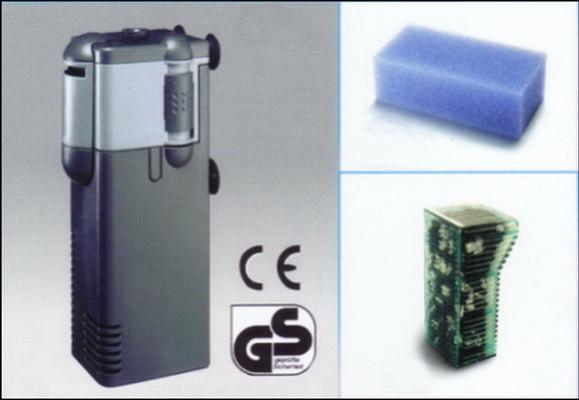 MICRON sisäsuodatin 50-200 l/h +aktiivihiilipatruuna