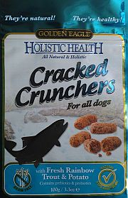 GOLDEN EAGLE Cracked Crunchers 100g