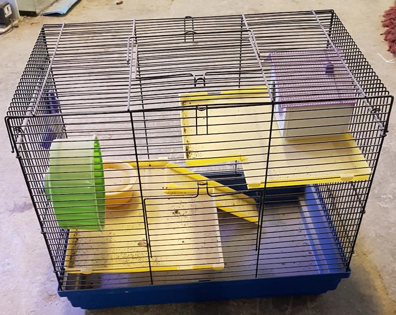 Hamsterihäkki, mitat 46x29x37cm