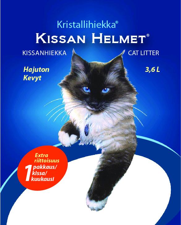 Kissanhelmet 3,6 L