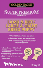 GE Super Premium Lamb & Rice / L & G Puppy 12kg