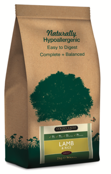 GE Naturals Lamb & Rice 12kg