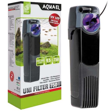 AQUAEL UniFilter UV sterilisoiva sisäsuodatin 750 l/h