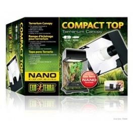 EXOTERRA COMPACT TOP valaisinkansi 20 cm NANO